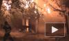 Жуткое видео из Астрахани: в центре города произошел крупный пожар