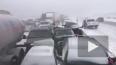 Более 70 машин попали в ДТП в Канаде