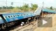 Cход пассажирского поезда в Краснодарском регионе: ...