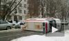 """В Петербурге перевернулась """"скорая помощь"""". Пострадали две женщины и младенец"""