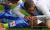 Футболист Днепра во время матча спас жизнь динамовцу