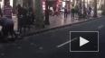 Появилось видео из Барселоны, где фургон врезался ...