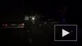 На Мурманском шоссе произошла крупная авария с фурами ...
