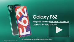 Samsung представила новый смартфон Galaxy F62 с мощной батареей