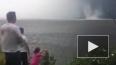 Ужасающее видео из Татарстана: на Волге бушевал смерч
