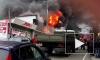 Появилось видео страшного пожара на улице Декабристов в Сочи