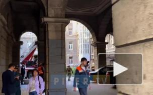При обрушении балкона на Загородном проспекте никто не пострадал