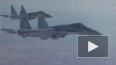 Опубликовано видео полета Сергея Шойгу над Сирией