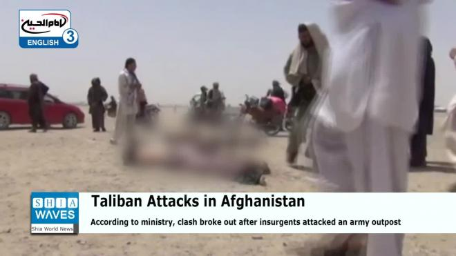 В Афганистане при атаке талибов погибли семеро военных