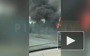 """На """"Сортавале"""" сгорел автобус"""