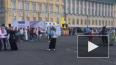"""Появилось видео: на Дворцовой площади начался """"Хоровод ..."""