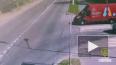 В Кронштадте мопед врезался в микроавтобус на перекрестк...