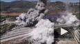 Момент взрыва во время движения турецкого военного ...