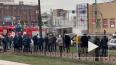 """Видео: на площади Фаберже сгорела """"ГАЗель"""""""