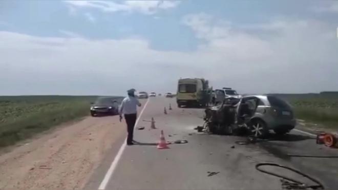 Под Липецком в ДТП погибли шесть человек