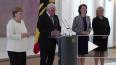 Меркель вновь стало плохо: канцлера начало трясти ...