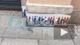 В Петербурге появился стрит-арт, посвященный очередям ...