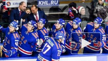 СКА победил ЦСКА в регулярном чемпионате