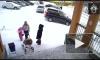 Под Мурманском упавший с крыши снег накрыл маму с малышкой