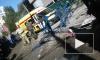 В Ярославле башенный кран упал на рабочих