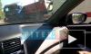 На Выборгском шоссе столкнулись три автомобиля: две легковушки и грузовик