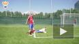 Дзюба встал на ворота на тренировке сборной России