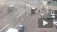 Бью в бок! ДТП на Новосмоленской набережной