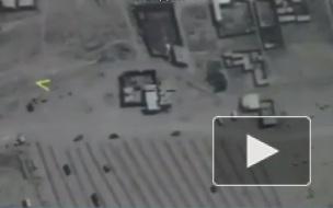 Российские войска уничтожили командный пункт с десятками террористов в Сирии