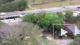 Появилось видео с места аварии пассажирского автобуса ...