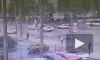 На пересечении Светлановского и Просвещения ВАЗ-2115 влетел в джип (видео)