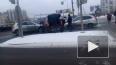 Видео с места массового ДТП на Дунайском