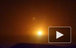 Отражение сирийской ПВО ракетного удара по Дамаску сняли на видео