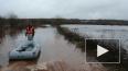Зимние дожди затопили восток Ленобласти. Люди добираются ...