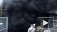 На улице Костюшко подземный паркинг охватил огонь
