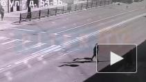 Момент обрушения балконов на Кирочной попал на видео