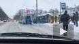 """Возле метро """"Академическая"""" машина влетела в остановку ..."""