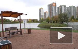 В Купчино открыли парк Героев-Пожарных площадью 50 гектаров