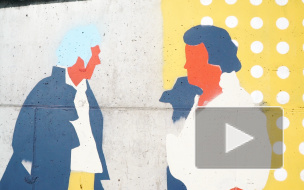 Городские открытия: как рисовали 70-метровое граффити по Пушкину