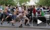 На фанатов Зенита напали в Мадриде с ножами и заточками