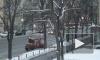 Улицы Петербурга от снега чистят 1000 дворников и 750 спецмашин