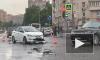 """От столкновения """"Соляриса"""" и """"Лады"""" на Малой Балканской пострадали пешеходы"""