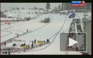 Евгений Гараничев завоевал бронзу масс-старта на этапе Кубка мира по биатлону