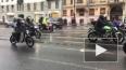 Петербургские байкеры открыли мотосезон под ливнем ...