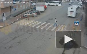 Автбус Дзержинский на ул. Лесная.