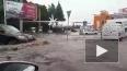 Опасное видео из Уфы: улицы города ушли под воду