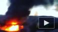 Появилось видео пожара в Геленджике: огонь уничтожил ...