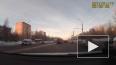 Очевидец снял как сбили пешехода в Ижевске