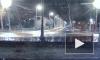 Момент ночного ДТП на Петроградской стороне попал на видео