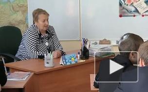 Их в классе было 45. Светлана Медведева приехала в родную школу