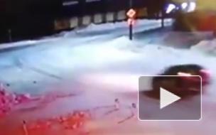 В Якутии водитель на скорости сбил насмерть подростка и врезался в стену